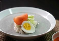 고소한 서리태 콩국수[cold bean-soup noodles] 만들기