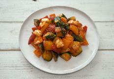비타민C 한 접시 다이어트에 좋은 반찬 파프리카 오이무침 만드는 법