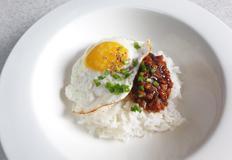 [가정 간편식] 건오징어장 계란밥