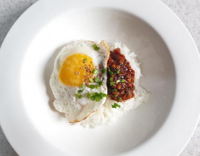 건오징어장계란밥
