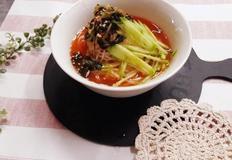 냉열무 김치국수 맛있게 만드는법