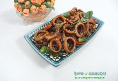 가정간편식/버섯 오징어조림