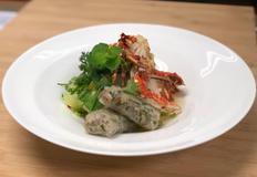 [간편식 상품화] 해산물 분짜 (새우짜조&꽃게튀김)