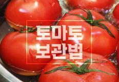 토마토 오래 보관하는 꿀팁 대공개!!
