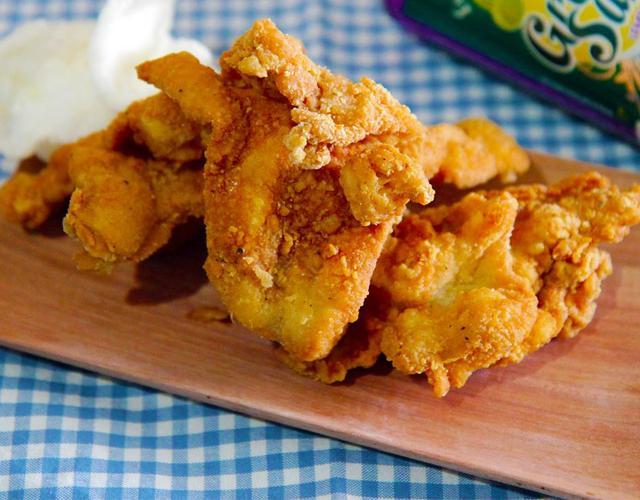 닭껍질튀김