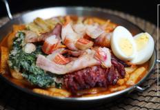 강식당] 백종원 국물떡볶이 (Spicy Stir-fried Rice cake)&콰트로 튀김(Quattro fries