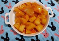 ♥[신혼밥상] 엄마표 감자조림