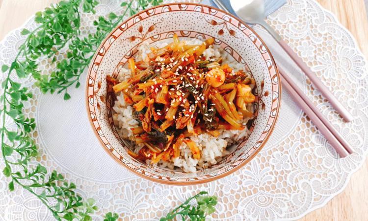 아삭한 열무김치~보리밥에 쓱싹 비벼먹어봅시당!