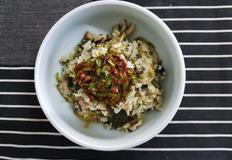 취나물 표고버섯밥 4인분