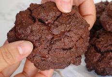 뉴욕 르뱅 스타일 두툼한 초콜릿 쿠키 만들기 (담백 버전) | 안젤라 베이킹