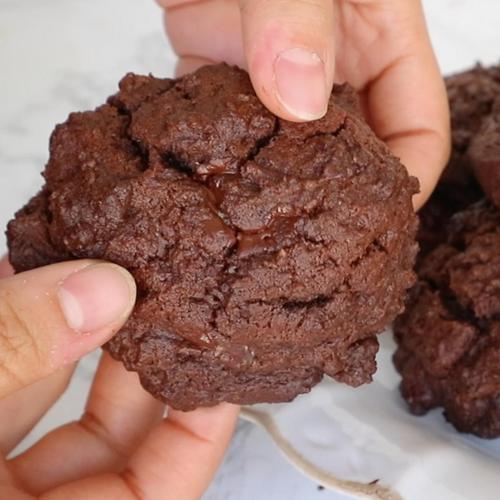 뉴욕 르뱅 스타일 두툼한 초콜릿 쿠키 만들기 (담백 버전)   안젤라 베이킹