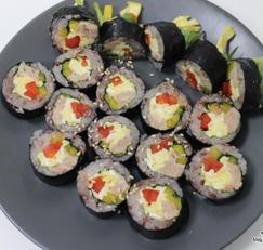다이어트 김밥 -파프리카 참치깁밥으로 가벼운 김밥 즐겨요