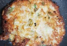 더위식히는 녹두로 만든 녹두빈대떡