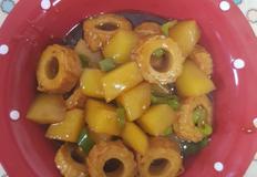 제철감자로 만든 짭쪼롬 감자어묵조림