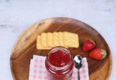 토스트, 딸기잼만들기 에어프라이어요리,아이간식