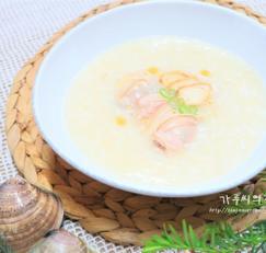 인삼 백합조개죽~ 건강 여름보양식 요리 추천