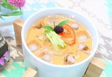 우무냉국/우뭇가사리콩국, 콩가루콩물 만들기
