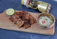 쥐포로 반찬 만들기 : 바삭바삭 쥐포튀김 (크런키 튀김)