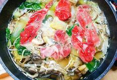 소고기 샤브샤브 코스요리