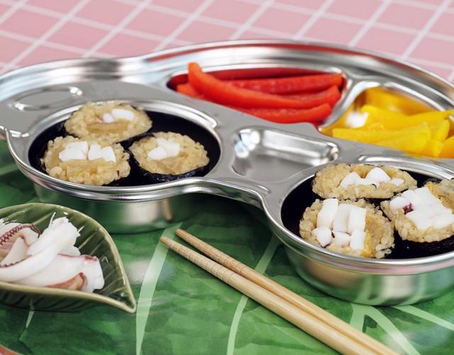 오징어현미김밥