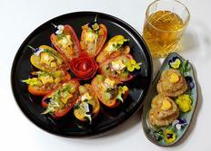 3층치즈 파프리카 컵밥&주먹밥
