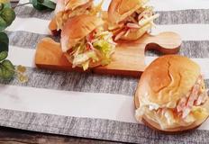 추억의 양배추 샐러드 사라다빵 만들기