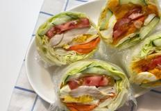 [다이어트 요리] 빵 없는 샌드위치! 언위치(Unwich) 만들기