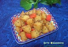 여름 매일반찬/파프리카 감자조림