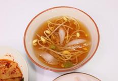 콩나물냉국 끓이기, 에어프라이어 요리, 아이 반찬, 여름 음식