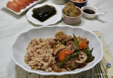 소고기 야채 덮밥 만들기