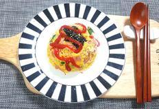 전자렌지로 초간단 한끼식사 '계란햄밥'만들기