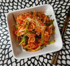 ♥[신혼밥상] 아삭식감 양파 궁합 겉절이