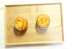 복숭아 병조림 꿀맛