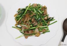 곰손도 쉽게 만드는 고기반찬 -돼지고기 부추볶음