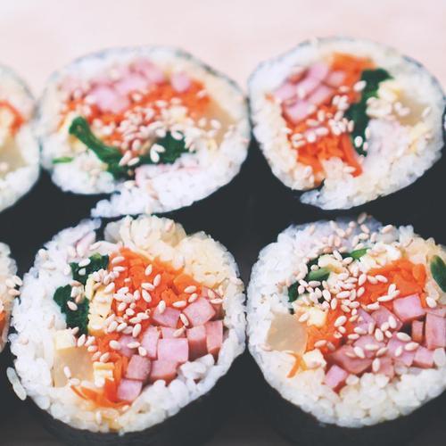 맛없을 수가 없는 김밥 만들기, 김밥 예쁘게 마는 법