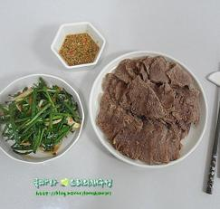 여름보양식/소고기사태수육 맛있게 삶는법