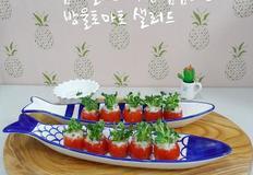 암예방레시피/방울토마토화분 샐러드