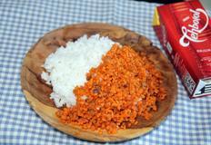 당근으로 반찬 만들기 : 당근 된장 덮밥