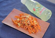 당근으로 반찬 만들기 : 닌진시리시리 ( 일본가정식 당근요리 / 볶음 )