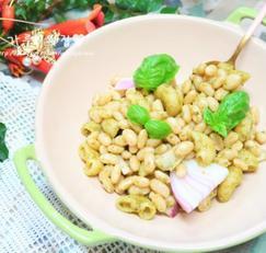 흰강낭콩 바질페스토 샐러드, 다이어트 요리 추천