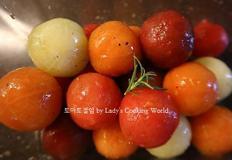 [암예방레시피]토마토절임. 수퍼푸드 토마토로 즐기는 저염식피클!