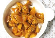 암예방레시피 영양 듬뿍 닭봉 카레 덮밥