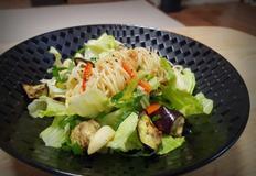 [암예방레시피] 구운야채를곁들인 샐러드파스타