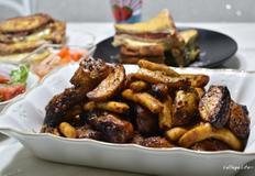 에어프라이기로 닭다리 구워 한상 차리기(주말 한끼 식단)
