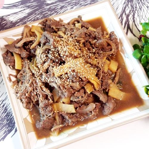 #한우불고기 #버섯불고기만들기 #초간단불고기양념만들기 #한우불고기와 산적감으로 버섯불고기 만들어 먹기!!