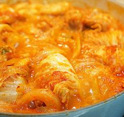 돼지쪽갈비 김치찜, 간단하고 맛있게! 추석 명절 개운한 별미