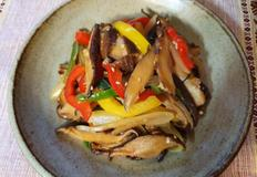 감칠맛이 좋은 표고버섯파프리카 볶음