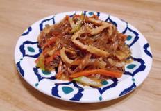 명절요리 잡채만들기 냄비하나로 간편하게 만드는 원팟잡채