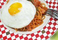혼밥으로 나폴리탄 스파게티 간단하고 맛있게 즐기자