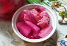 ♥[신혼밥상] 분홍빛 피클피클